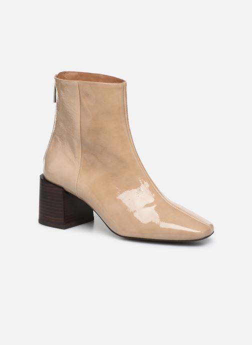 Boots en enkellaarsjes Flattered Inga C Beige detail