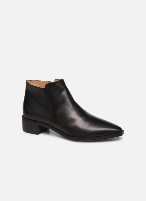 Ankelstøvler Flattered Nata C Sort detaljeret billede af skoene