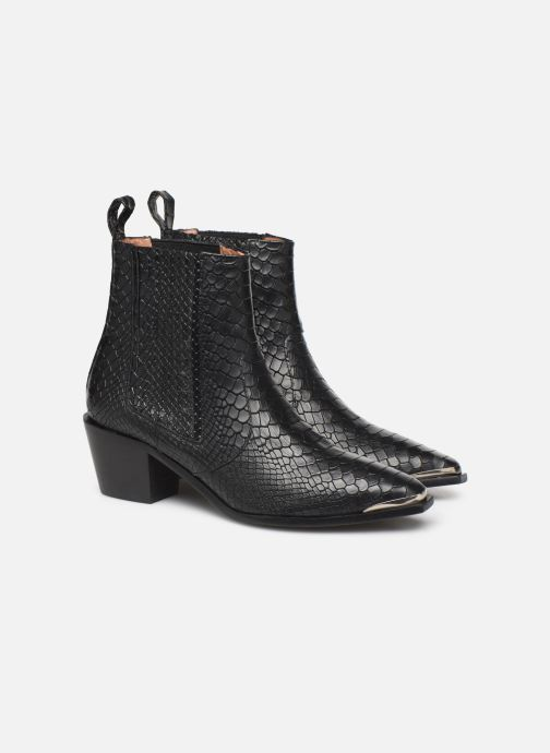 Boots en enkellaarsjes Flattered Rebecca Laurey Boot C Zwart 3/4'