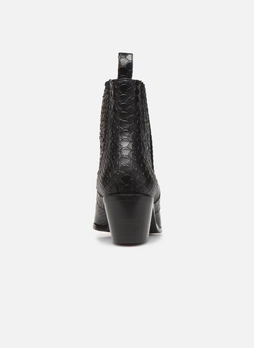 Boots en enkellaarsjes Flattered Rebecca Laurey Boot C Zwart rechts