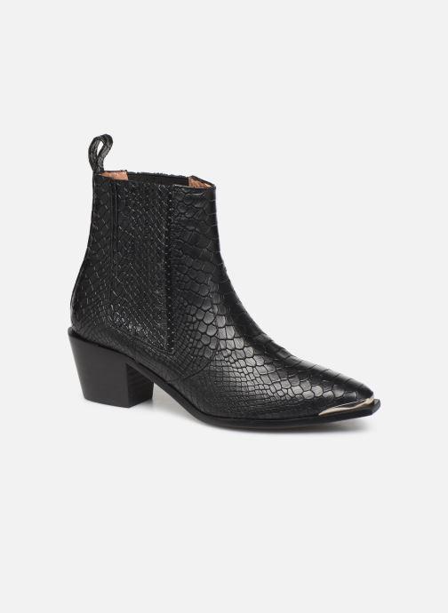 Boots en enkellaarsjes Flattered Rebecca Laurey Boot C Zwart detail