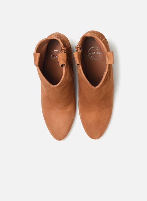 Stivaletti e tronchetti Made by SARENZA Soft Folk Boots #10 Marrone modello indossato