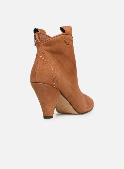 Stivaletti e tronchetti Made by SARENZA Soft Folk Boots #10 Marrone immagine frontale