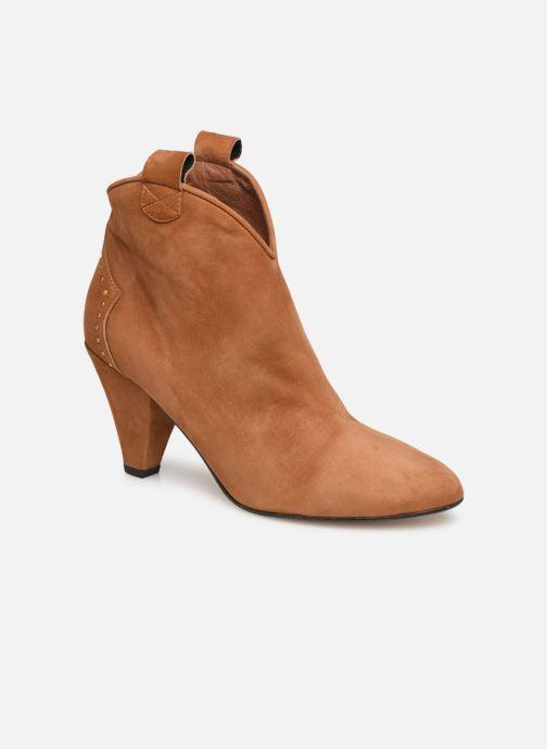 Stivaletti e tronchetti Made by SARENZA Soft Folk Boots #10 Marrone immagine destra