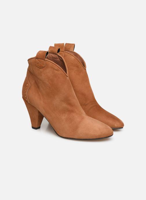Stivaletti e tronchetti Made by SARENZA Soft Folk Boots #10 Marrone immagine posteriore
