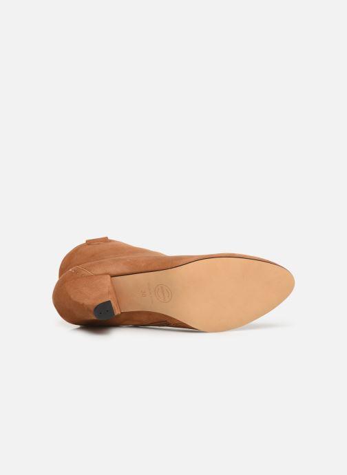 Stivaletti e tronchetti Made by SARENZA Soft Folk Boots #10 Marrone immagine dall'alto