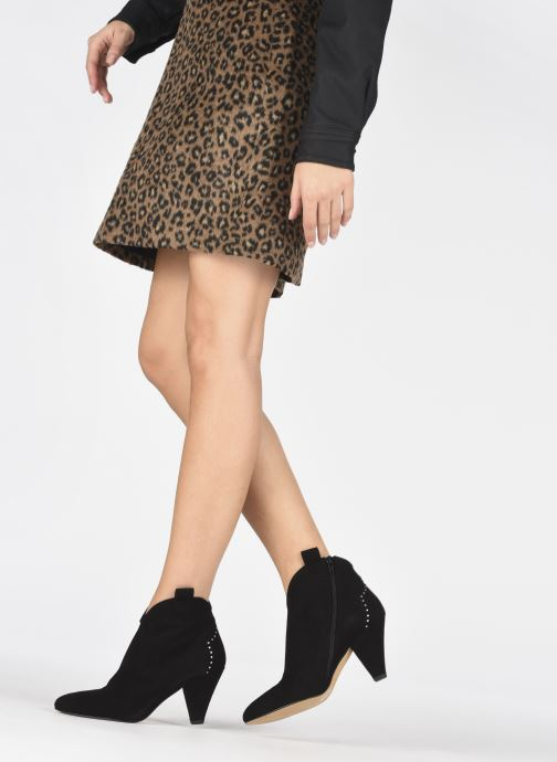 Stiefeletten & Boots Made by SARENZA Soft Folk Boots #10 schwarz ansicht von unten / tasche getragen
