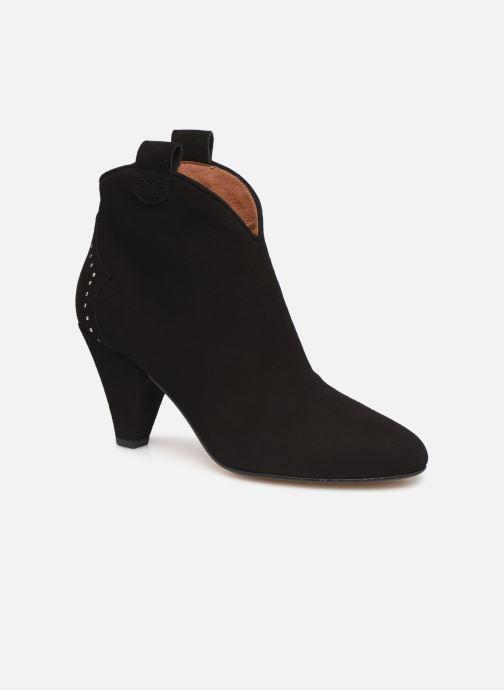 Botines  Made by SARENZA Soft Folk Boots #10 Negro vista lateral derecha