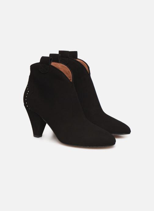 Botines  Made by SARENZA Soft Folk Boots #10 Negro vistra trasera