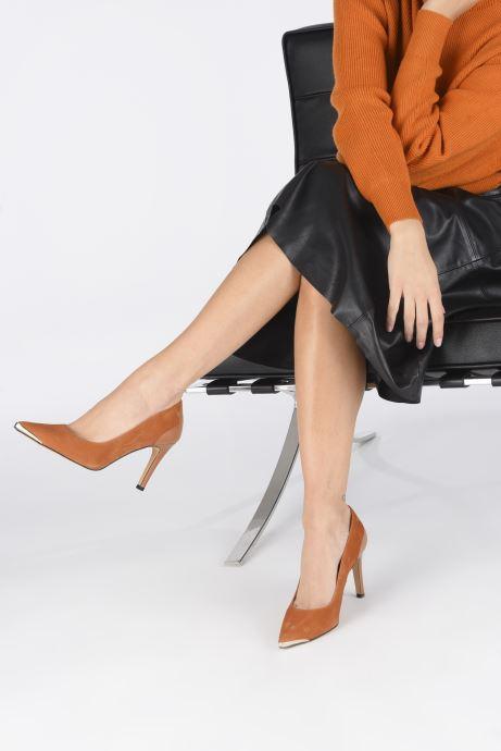 Zapatos de tacón Made by SARENZA Soft Folk Escarpin #3 Marrón vista de abajo