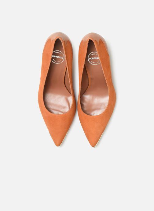 Zapatos de tacón Made by SARENZA Soft Folk Escarpin #3 Marrón vista del modelo