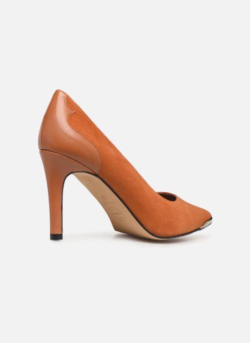 Zapatos de tacón Made by SARENZA Soft Folk Escarpin #3 Marrón vista de frente