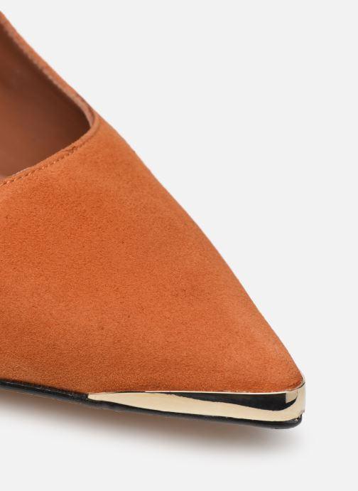 Zapatos de tacón Made by SARENZA Soft Folk Escarpin #3 Marrón vista lateral izquierda