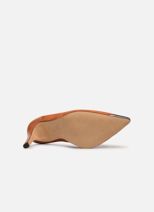 Zapatos de tacón Made by SARENZA Soft Folk Escarpin #3 Marrón vista de arriba