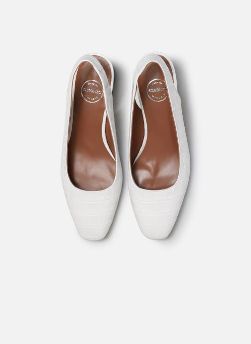 Escarpins Made by SARENZA Retro Dandy Escarpin #2 Blanc vue portées chaussures
