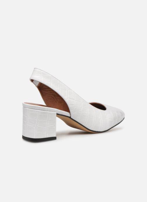 Zapatos de tacón Made by SARENZA Retro Dandy Escarpin #2 Blanco vista de frente