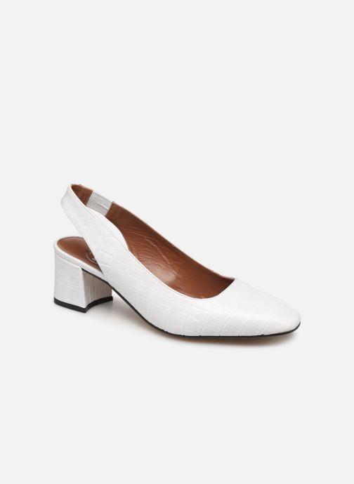 Zapatos de tacón Made by SARENZA Retro Dandy Escarpin #2 Blanco vista lateral derecha