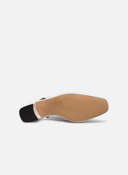 Zapatos de tacón Made by SARENZA Retro Dandy Escarpin #2 Blanco vista de arriba
