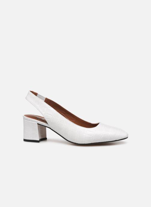 Zapatos de tacón Made by SARENZA Retro Dandy Escarpin #2 Blanco vista de detalle / par