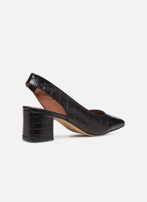 Høje hæle Made by SARENZA Retro Dandy Escarpin #2 Sort se forfra