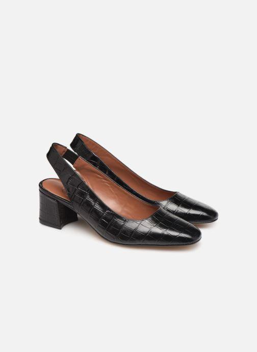 Zapatos de tacón Made by SARENZA Retro Dandy Escarpin #2 Negro vistra trasera