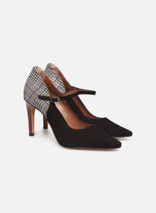 High heels Made by SARENZA Retro Dandy Escarpins #5 Multicolor back view