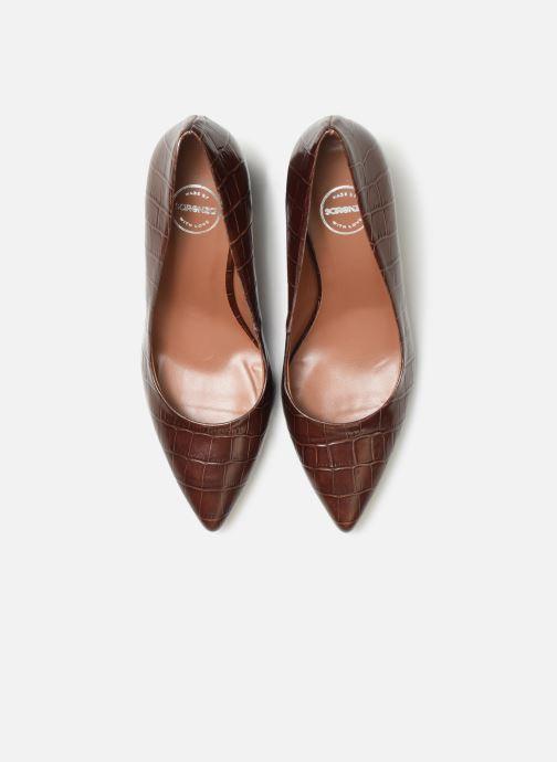 Escarpins Made by SARENZA Night Rock Escarpin #2 Marron vue portées chaussures
