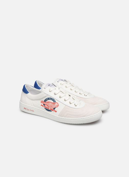 Baskets PS Paul Smith Lockie Blanc vue 3/4