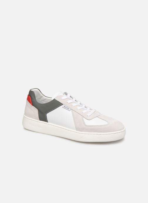 Baskets PS Paul Smith Cross Blanc vue détail/paire