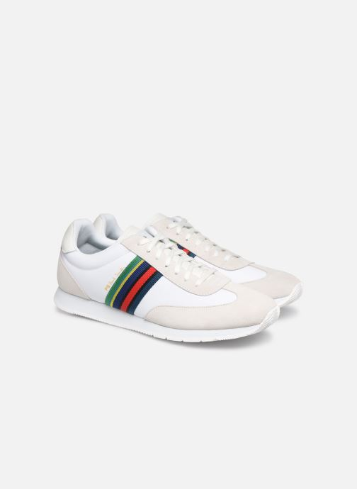 Baskets PS Paul Smith Prince Blanc vue 3/4