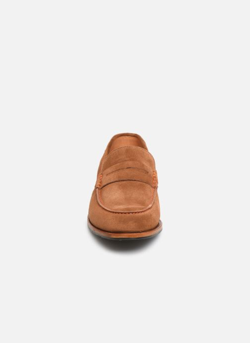 Mocassins PS Paul Smith Teddy Marron vue portées chaussures