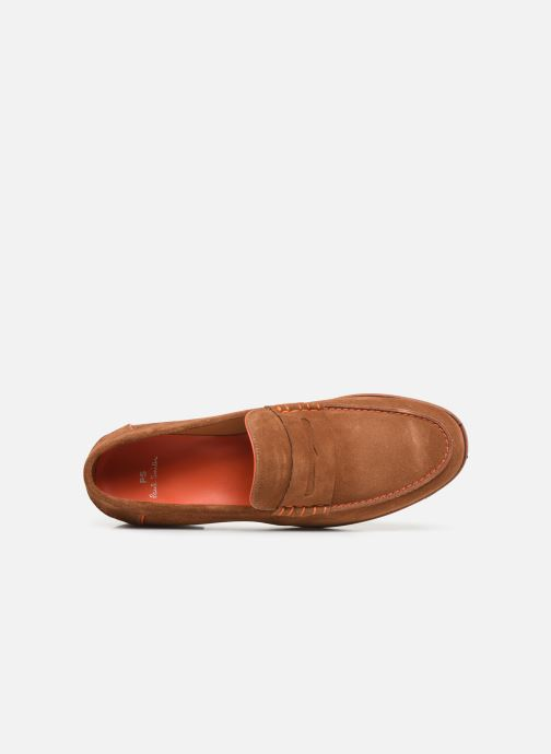 Mocassins PS Paul Smith Teddy Marron vue gauche