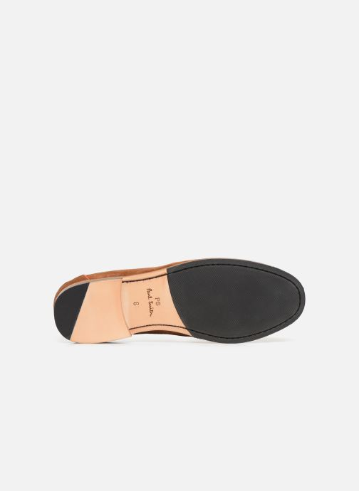 Mocassins PS Paul Smith Teddy Marron vue haut