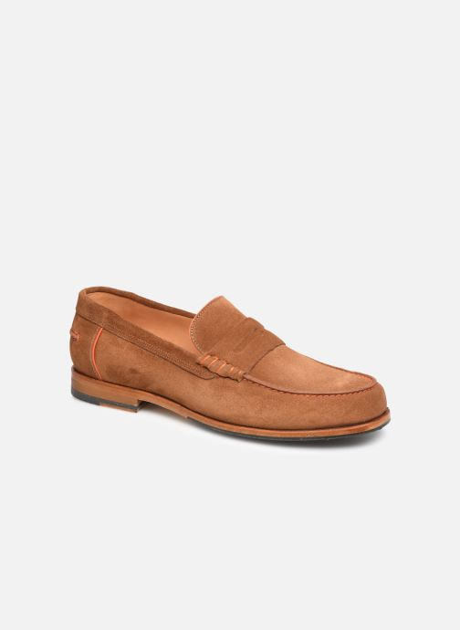 Mocassins PS Paul Smith Teddy Marron vue détail/paire