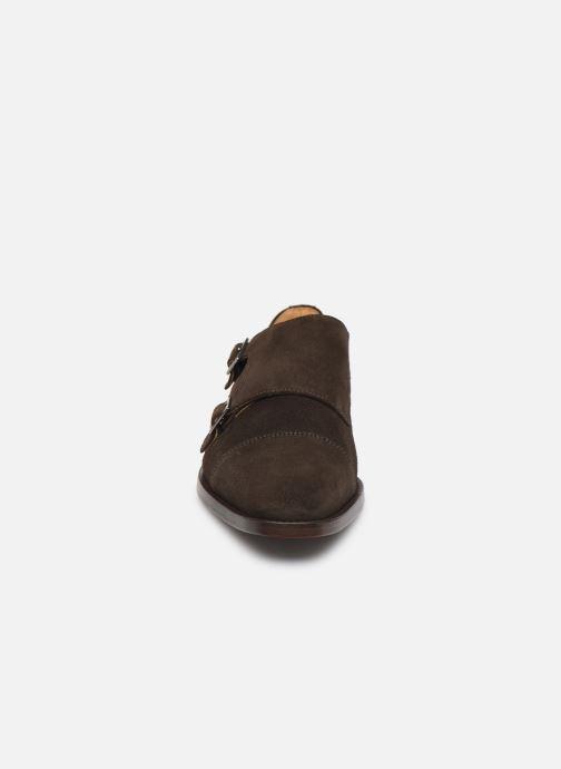 Mocassins PS Paul Smith Frank Marron vue portées chaussures