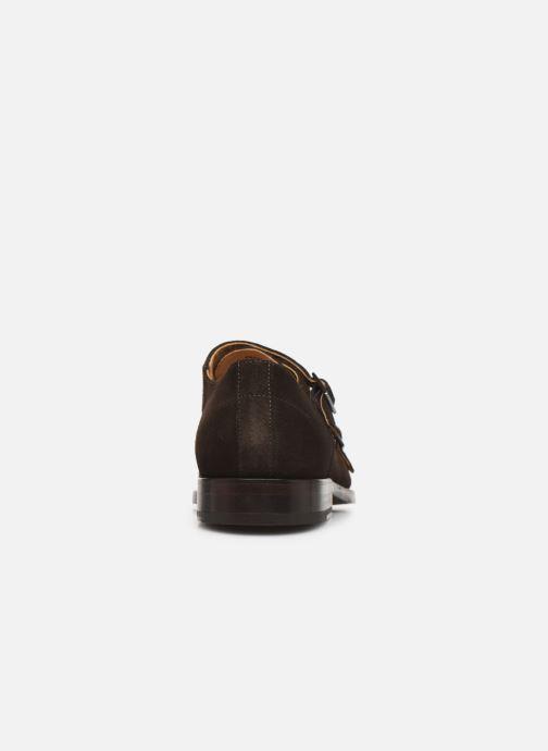 Schuhe mit Schnallen PS Paul Smith Frank braun ansicht von rechts