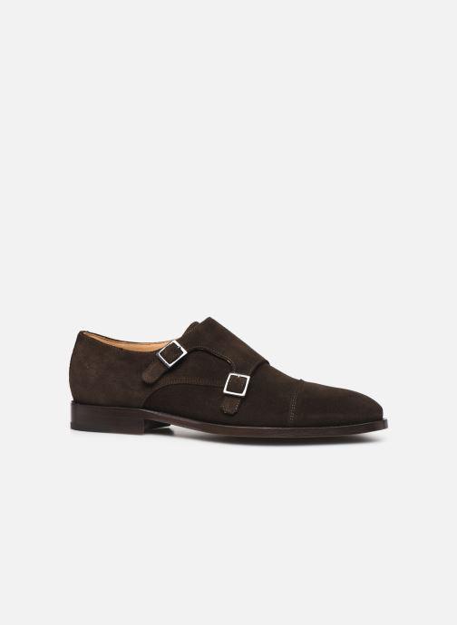 Schuhe mit Schnallen PS Paul Smith Frank braun ansicht von hinten