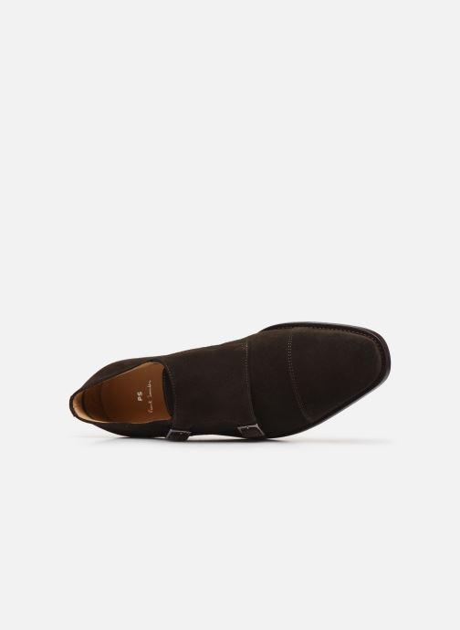 Schuhe mit Schnallen PS Paul Smith Frank braun ansicht von links