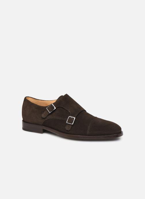 Schuhe mit Schnallen PS Paul Smith Frank braun detaillierte ansicht/modell