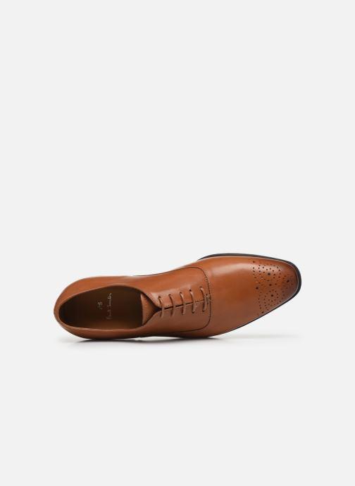 Chaussures à lacets PS Paul Smith Guy Marron vue gauche