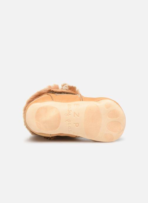Pantoffels Easy Peasy Foumoo Bruin boven