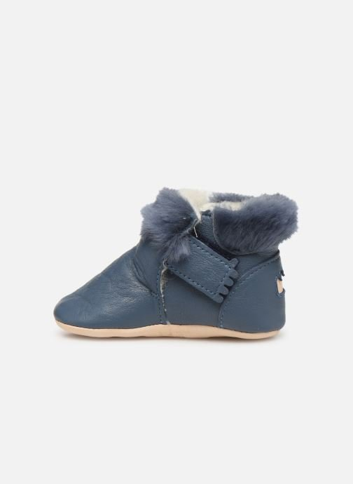 Chaussons Easy Peasy Foumoo Bleu vue face