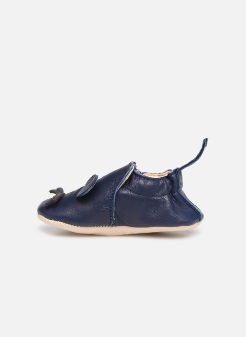 Chaussons Easy Peasy Blumoo Mouse Bleu vue face