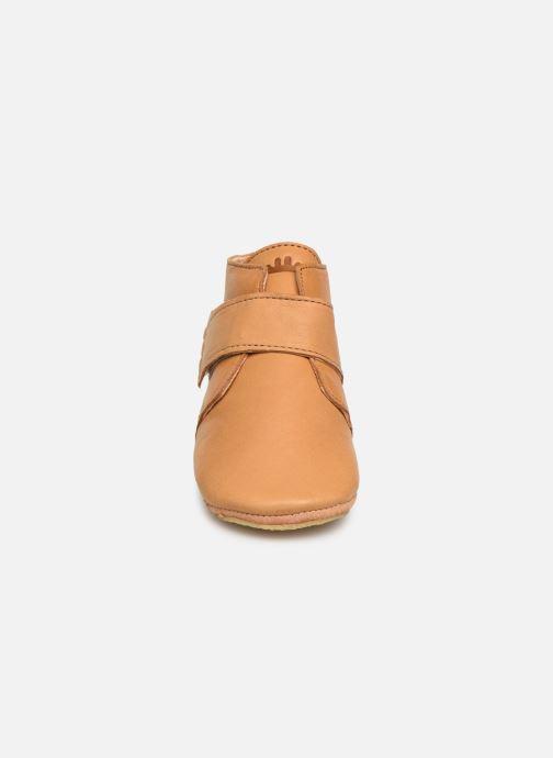 Chaussons Easy Peasy Kiny Uni Marron vue portées chaussures