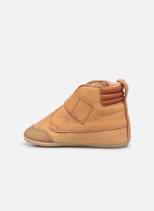 Chaussons Easy Peasy Itimb Marron vue face