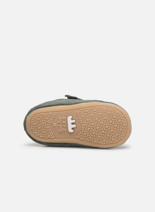 Chaussons Easy Peasy Itimb Gris vue haut