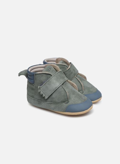 Chaussons Easy Peasy Itimb Gris vue détail/paire