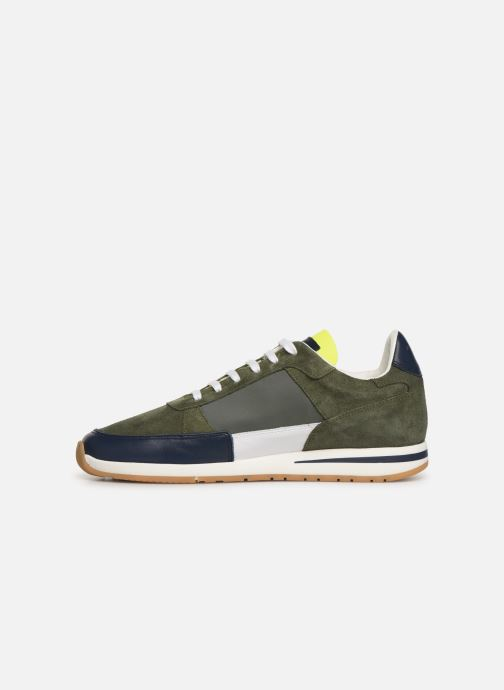 Trainers Piola CALLAO Green front view