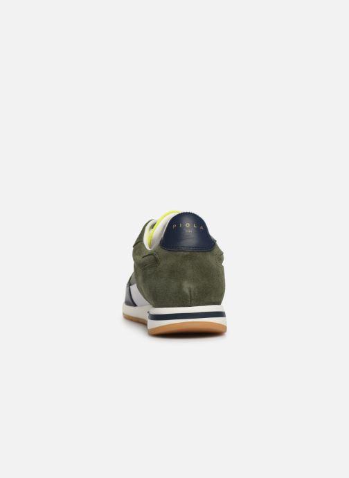 Baskets Piola CALLAO Vert vue droite