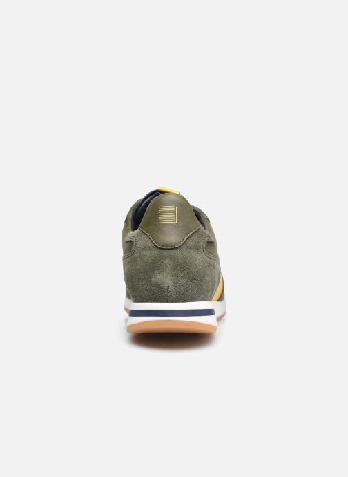 Sneaker Piola CALLAO grün ansicht von rechts
